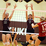Brookside Kady Whitsel hits past Wellington 19 Jill Jackson and 5 Erin Reisinger Oct. 11.   Steve Manheim