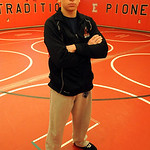 Elyria senior wrestler Brandon Egnor on Feb. 20.   Steve Manheim