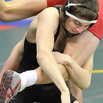 Markus Cruz of Clearview upends Dominic Vagnier of Circleville Logan Elm in his 2-0 win in Div. II. DAVID RICHARD / CHRONICLE