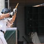Lorain County's Billy Salem breaks his bat on a hit. AMANDA RUNDLE/CHRONICLE