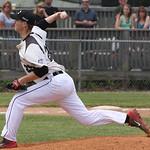 Lorain County's JT Brubaker pitches. AMANDA RUNDLE/CHRONICLE