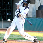 Ironmen's Billy Salem bats against the Champion City Kings on Tuesday. KRISTIN BAUER | CHRONICLE