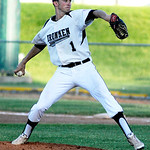 Ironmen's pitcher Sam Clarke pitches against the Champion City Kings on Tuesday. KRISTIN BAUER | CHRONICLE