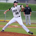 Ironmen's J.T. Brubaker pitches against the Kings. KRISTIN BAUER | CHRONICLE