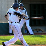 Cody Semler singles in the first inning. STEVE MANHEIM/CHRONICLE
