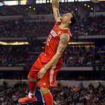 West All-Star Deron Williams of the Utah Jazz dunks during the second quarter of the NBA All-Star basketball game Sunday, Feb. 14, 2010, at Cowboys Stadium in Arlington, Texas. (AP Photo/LM  …