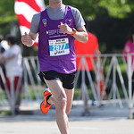 Brian Whittaker of Sheffield approaches the finish line of the Cleveland Rite Aid marathon. photo by Ray Riedel