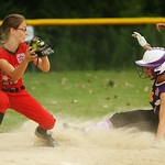 Ellie Cibulskas of Avon steals third against Elyria. AMANDA K. RUNDLE/CHRONICLE