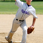 Vermilion pitcher Noah Cacciatore pitches against Elyria. KRISTIN BAUER | CHRONICLE