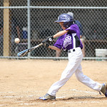 Keystone's Justin Bowen hits a single. RAY RIEDEL/CHRONICLE