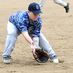Grafton's RJ Lambert fields a ground ball. KRISTIN BAUER | CHRONICLE