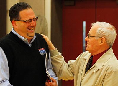 Tim Alcorn and Bob Walsh. Photo by Tom Mahl