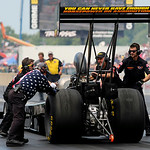 Troy Buff was unable to race in the semi-finals of the Top Fuel dragster heat on July 6 due to a car malfunction. KRISTIN BAUER | CHRONICLE