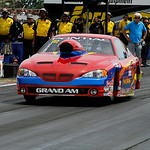 Patrick Ross, of Avon Lake, competes during the Summit Racing Equipment NHRA Finals on July 5. KRISTIN BAUER | CHRONICLE