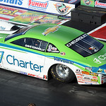Dave Connolly of Elyria in pro stock qualifying at the NHRA Nationals in Norwalk on July 4. STEVE MANHEIM/CHRONICLE