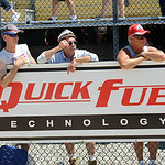 Race fans watch the NHRA qualifying races at Norwalk Summit Motorsports Park on July 4. STEVE MANHEIM/CHRONICLE