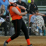Buckeye's Kelsie Shultz bats against Firelands. KRISTIN BAUER | CHRONICLE