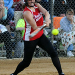 Firelands' Emma Ranney bats against Buckeye.   KRISTIN BAUER | CHRONICLE