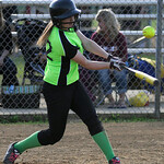 Wellington's Alexis Buzaleski bats against Lorain.  KRISTIN BAUER | CHRONICLE