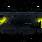 Two Zamboni's prepare the ice before Game 3 of the NHL hockey Stanley Cup Finals between the Boston Bruins and the Chicago Blackhawks in Boston, Monday, June 17, 2013. (AP Photo/Charles Krup …