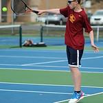 Avon Lake's Matt Sladek plays first doubles.