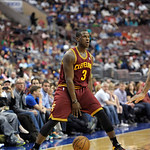 Cleveland Cavaliers' Dion Waiters (3) is shown during an NBA basketball game against the Philadelphia 76ers, Sunday, April 14, 2013, in Philadelphia. The 76ers won 91-77. (AP Photo/Michael P …