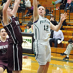 EC Riley Schill shoots over Rocky River Carolyn Farling Jan. 9.   Steve Manheim