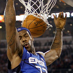East All-Star LeBron James of the Cleveland Cavaliers dunks during the fourth quarter of the NBA All-Star basketball game Sunday, Feb. 14, 2010, at Cowboys Stadium in Arlington, Texas. (AP P …