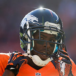 Denver Broncos wide receiver Trindon Holliday is pictured during  an NFL football game against the Cleveland Browns, Sunday, Dec. 23, 2012, in Denver. (AP Photo/Julie Jacobson)