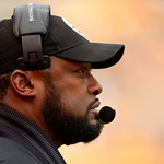 Pittsburgh Steelers head coach Mike Tomlin stands on the sidelines during the fourth quarter of an NFL football game against the Cleveland Browns in Pittsburgh, Sunday, Dec. 30, 2012. The St …