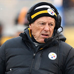 Pittsburgh Steelers defensive coordinator Dick LeBeau walks on the sidelines during the fourth quarter of an NFL football game against the Cleveland Browns in Pittsburgh, Sunday, Dec. 30, 20 …
