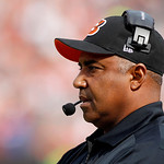 Cincinnati Bengals head coach Marvin Lewis watches from the sidelines in the first quarter of an NFL football game against the Cleveland Browns Sunday, Oct. 14, 2012, in Cleveland. (AP Photo …