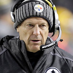 Pittsburgh Steelers defensive coordinator Dick LeBeau walks the sideline as they play against the Cleveland Browns in the NFL football game on Thursday, Dec. 8, 2011, in Pittsburgh. (AP Phot …
