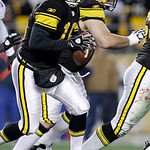 Pittsburgh Steelers backup quarterback Charlie Batch (16) looks to pass during the second quarter of an NFL football game against the Cleveland Browns in Pittsburgh, Thursday, Dec. 8, 2011.  …