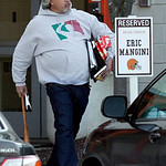 Cleveland Browns defensive coordinator Rob Ryan leaves the NFL team's headquarters Monday, Jan. 3, 2011, in Berea, Ohio. After two 5-11 seasons, head coach Eric Mangini was fired by team pre …