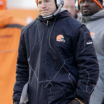 Cleveland Browns head coach Eric Mangini is seen on the sidelines late in the second half of his teams' game against the Pittsburgh Steelers in their NFL football game on Sunday, Jan. 2, 201 …