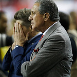 Atlanta Falcons owner Arthur Blank during the second half of the NFL football NFC Championship game Sunday, Jan. 20, 2013, in Atlanta. The 49ers won 28-24 to advance to Superbowl XLVII. (AP  …