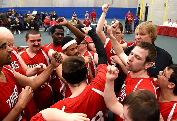 Special Olympics Basketball Tournament 2015