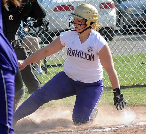 Vermilion at Elyria Catholic softball